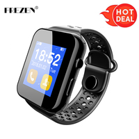FREZEN Bluetooth Smart Watches I8 Passometer Watch Phone Battery Support SIM Card Calling Function For Android