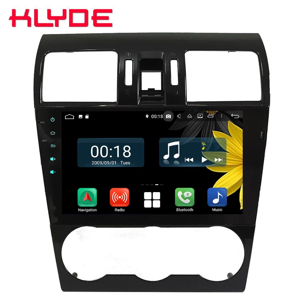 9 IPS Octa Core 4G Android 8.1 4GB RAM 64GB ROM RDS Car DVD Player Radio GPS Glonass Navi For Subaru Forester XV WRX 2013-2018