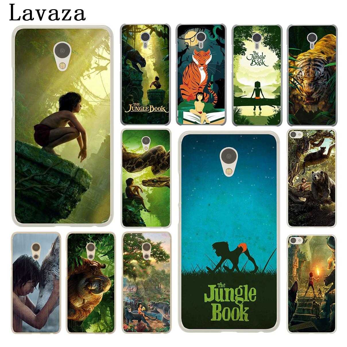 Lavaza The Jungle Book Hard Phone Shell Case for Meizu M5C M6 M5 M5S M2 M3 M3S Mini Note U10 U20 Pro 7 Plus 6 Cover