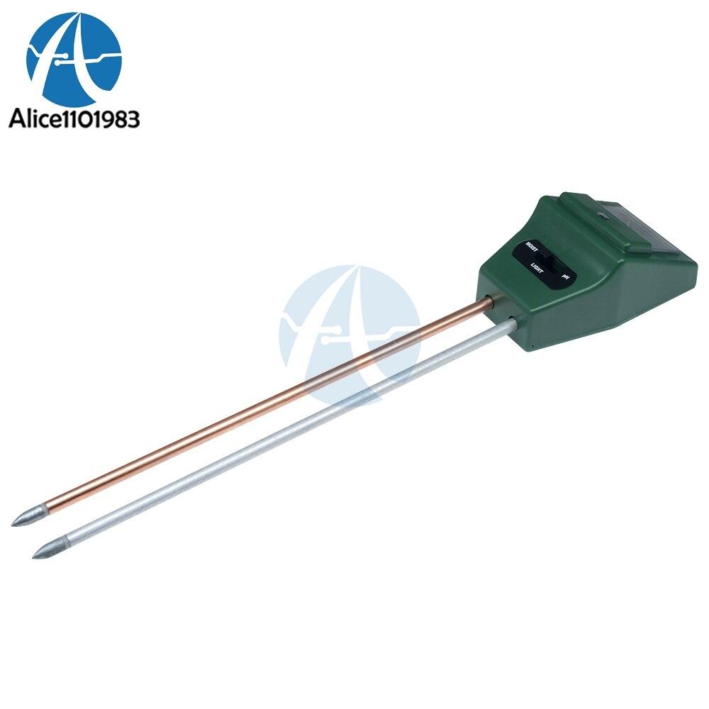 3 in 1 Soil Analysis Tester Gardening Detector Hygrometer Acidity PH Meter Light Detector Measures Moisture3 in 1 Soil Analysis Tester Gardening Detector Hygrometer Acidity PH Meter Light Detector Measures Moisture