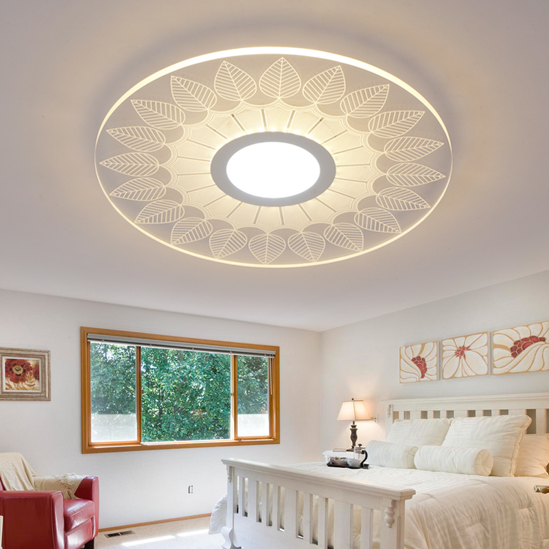 modern LED Ceiling Lights acrylic Ultrathin Living Room ceiling lights bedroom Decorative lampshade Lamparas de techo modern led ceiling lights acrylic ultrathin living room ceiling lights bedroom decorative lampshade lamparas de techo