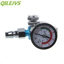 Мини легкий BSP HVLP распылитель воздуха регулятор инструмент манометр мембранный контроль для распылителей и пневматических инструментов