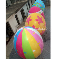 Free shipping 3m high giant inflatable easter egg for event