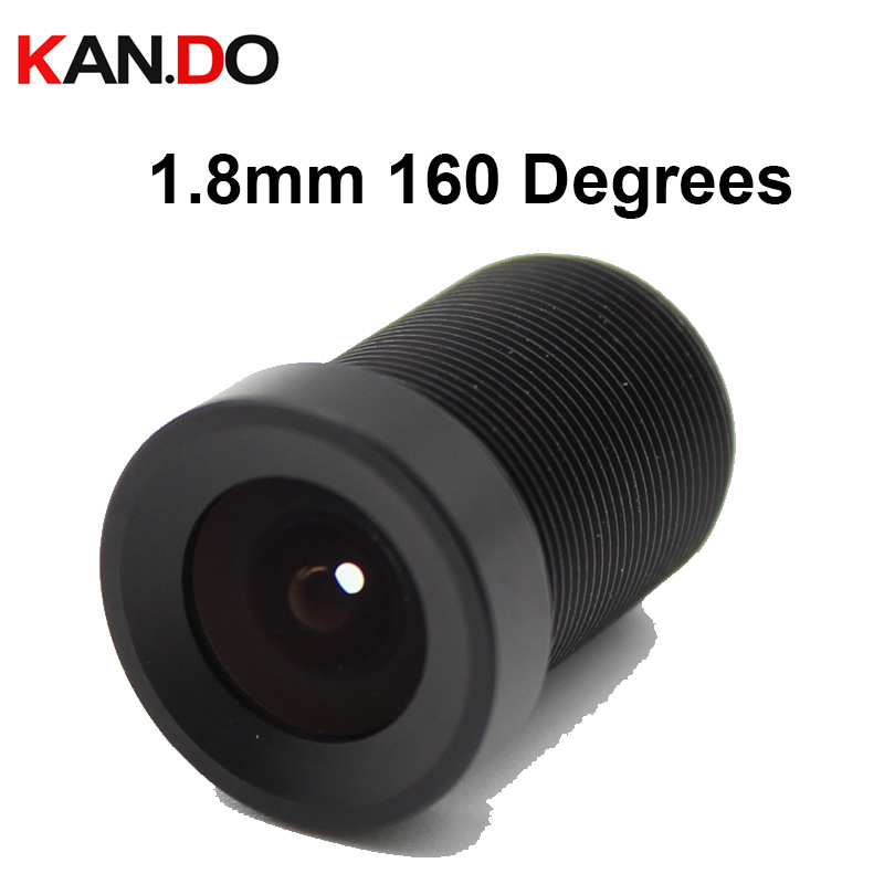1.8mm 160 Degrees Wide Angle CCTV Lens Camera IR Board Fixed M12 for HD Security Camra 1.8nn lens 160 degree lens