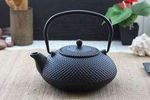 Free shipping discount 300ml / 0.3l Pot Japanese Iron Teapot Kongfu Tea Pot(China)