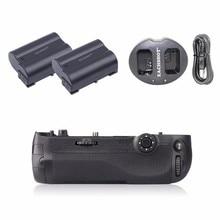 Meike MK-D500 Vertical Battery Grip for Nikon D500 as MB-D17 D17 + 2 pcs EN-EL15 Battery + Dual charger eachshot mb d17 replacement battery grip for nikon d500 digital slr cameras en el15 battery as the mk d500 battery grip