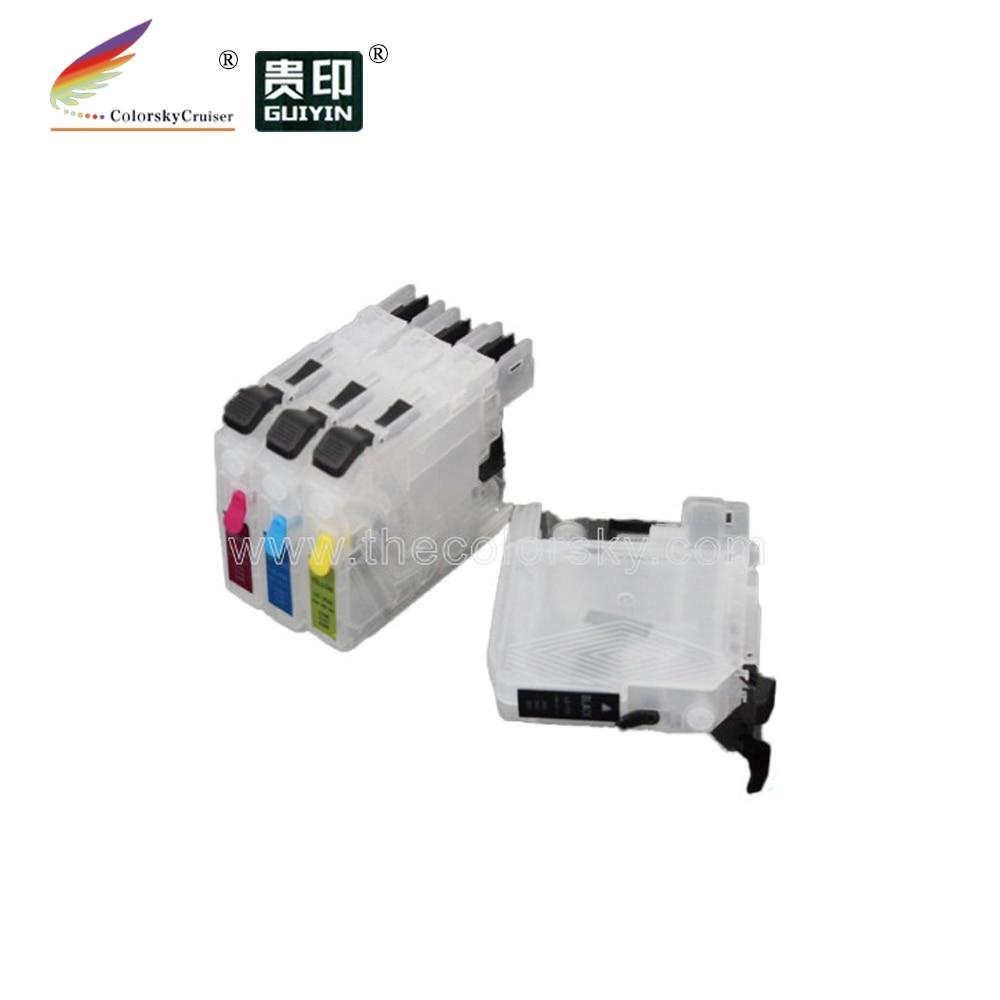 (RCB-LC137) Заправляемый картридж с чернилами для Brother DCP J4110DW MFC J4410DW J4510DW J4710DW LC137 LC135 137 135 kcmy