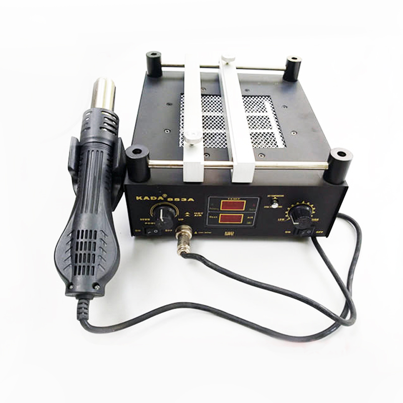 220V 110V 600W KADA 853A SMD Rework Soldering Pre-heating Station Warm-up Infrared Rays Hot Air Gun220V 110V 600W KADA 853A SMD Rework Soldering Pre-heating Station Warm-up Infrared Rays Hot Air Gun
