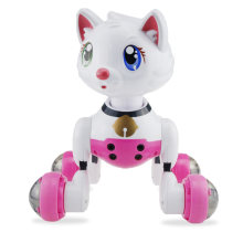 Smart Voice Control Cat Robot Dance Music Electronic Pets Toys Automatic Dormancy Function(China)
