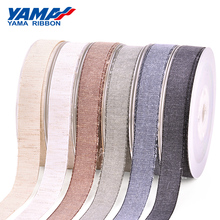YAMA Nylon Cotton Ribbon 50Yards 9mm 16mm 25mm 38mm and 3/8 5/8 1 1-1/2 inch Ribbons Hand Made Craft Gift elastic