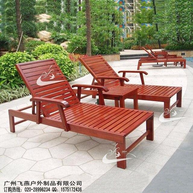 Madera exterior sillas plegables silla de playa / madera exterior ...
