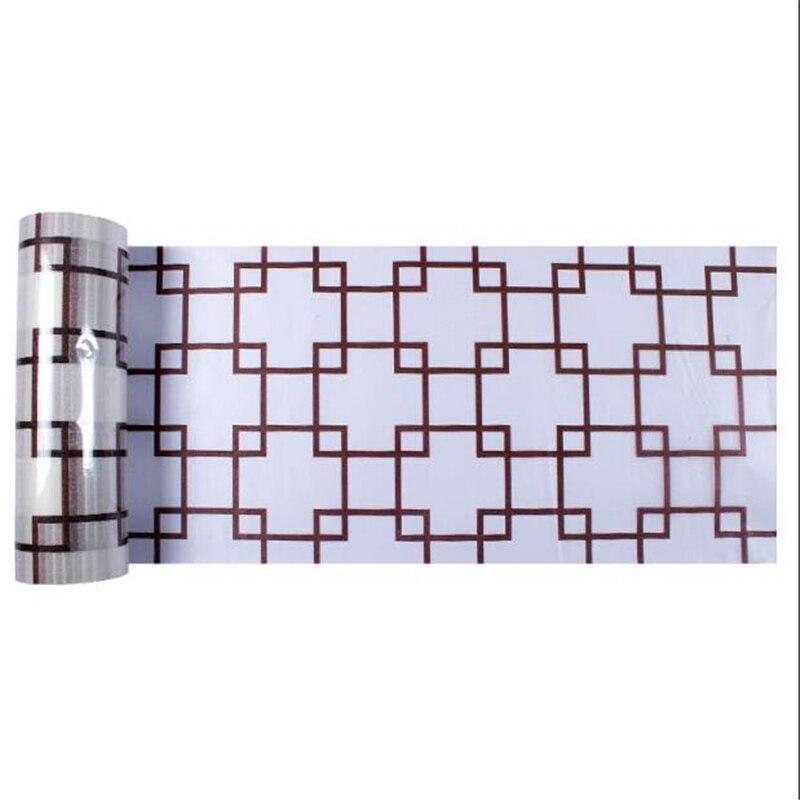 Funlife 80*600 cm Auto-adhésif dépoli cellophane fenêtre papier autocollant film épaississement transparent opaque salle de bains papier autocollant - 5