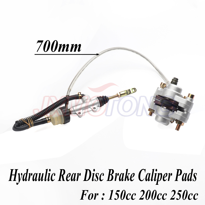 Hydraulic Rear Disc Brake Caliper Pads 150cc 200cc 250cc ATV Quad Dirtbike zongshen loncin lifan taotao ATV quad