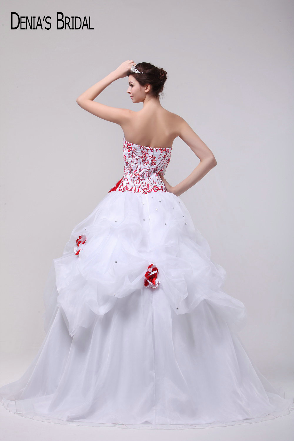 2017 Beautiful Ball Gown Wedding Dresses with Sweetheart Neckline ...