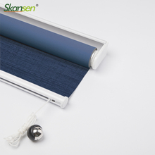 Skansen Blackout Suede fabric Roller blinds for Living Room, Bed Room, Study Room, Accept Customized Size