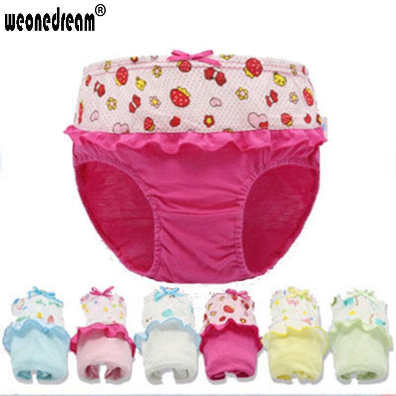 423535077e01 12 pcs/lot 100% Cotton Baby Girls Underwear Colorfull Kids Briefs Underwear  Baby Kids Panties for Girls Children Unisex Trunks