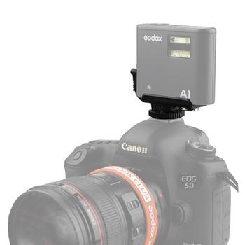 Le Scarpe Flash   Nuovo Arrivo Godox A1 Camera Hot Shoe Adapter Singolo Trigger Point Speciale Su Misura Per A1 Cellulare Intelligente Del Flash