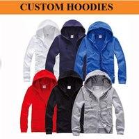 Mini bán buôn 50 cái! 50%-60% giảm giá chi phí vận chuyển! tùy chỉnh dây kéo hoodies, tùy chỉnh sweatershirts, dày phong cách, in logo của bạn