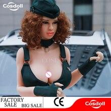 Cosdoll Full Size 168cm Big Boobs Secret Service Silicone Sex Dolls Big Buttock For Men Masturbation Oral Anal Vaginia Sex Doll