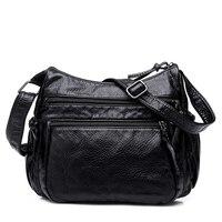 Vintage Fashion Crossbody Bag Women S Flap PU Leather Bag Handbag Sac A Main Femme Ladies