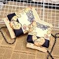 2016 Nova Moda Criativa Lascas Sacos Mulheres Sacos Do Mensageiro Sacos de Mão Lanches Presente Interessante Padrão Sacos Crossbody HBC85