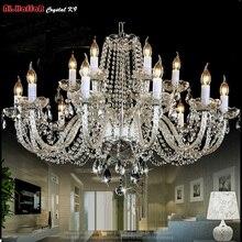 Современная хрустальная люстра, светильник ing, роскошные прозрачные хрустальные люстры, подвесной светильник, люстры, лампа для отелей, светильник ing