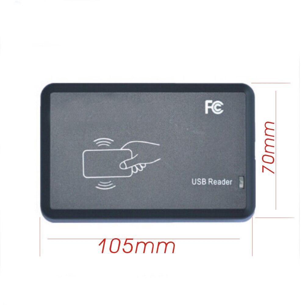 Free shipping 125KHZ access control card copier/duplicator  T5557 em4305 id card writer  usb port