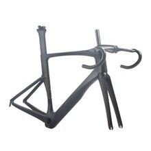 Монокок карбоновая, для шоссейного прогулочного велосипеда лучший углерода гоночный велосипед, фреймсет