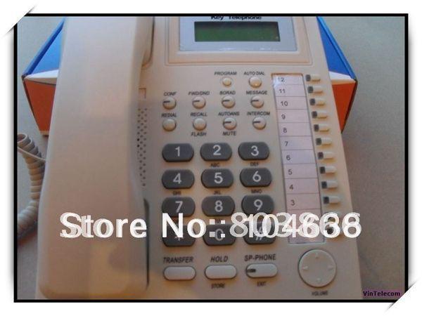 Ключевой телефон для многоканальный телефон системы/PABX программируемые телефоны