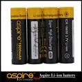 4 pcs nova Aspire 18650 3.7 V Li ion Super alta a 1800 mah Ecig para Aspire 18650