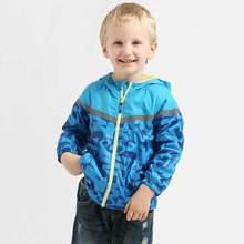 Дети верхняя одежда пальто спортивный детская одежда двухэтажных водонепроницаемый ветрозащитный мальчики куртки для 2-6Y весна и осень