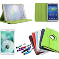 """360 Degree Rotating PU Leather Case Cover For Samsung Galaxy Tab 3 8"""" 8 inch 8.0 T310 T311 T315 Tablet"""
