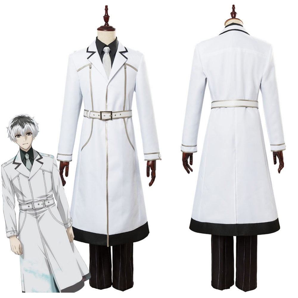 все цены на Tokyo Ghoul Re Sasaki Haise Ken Kaneki Cosplay Costume Uniform Suit Halloween Carnival Costumes