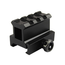 20mm Picatinny rail red dot Riser Mount Version Micro With Rise