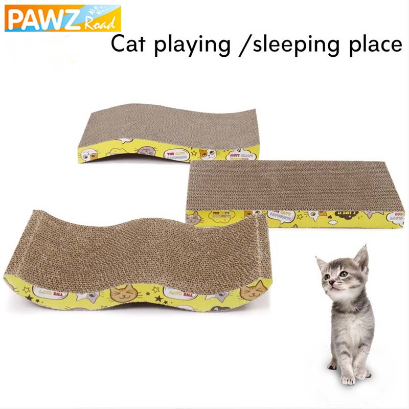 cat scratch board straight s w shape big size double sided. Black Bedroom Furniture Sets. Home Design Ideas