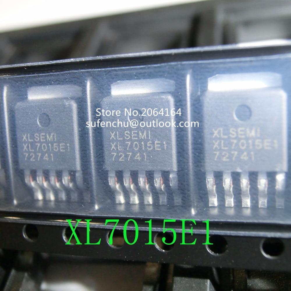 Новинка; Лидер продаж 5 шт. XL7015E1 XL7015 TO252 0.8A 150 кГц 80 В понижающий преобразователь постоянного тока новый оригинальный