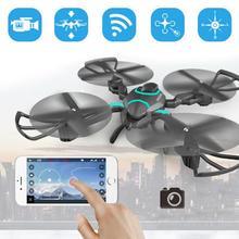 QZ S8 Wifi Mini Drone Con Cámara 720 P HD FPV RC Quadcopter Drone Autofoto Profesional Drone Aviones Altitud Hold helicóptero