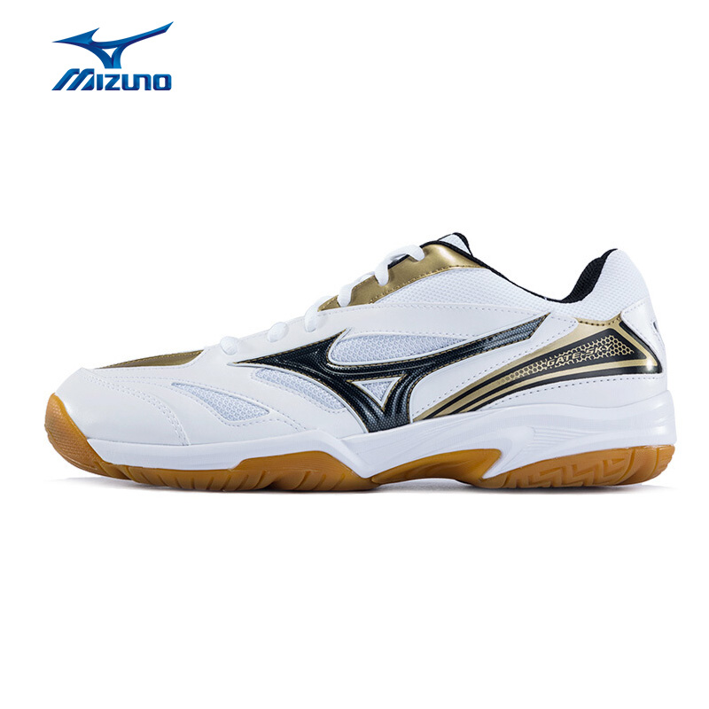 MIZUNO Men GATE SKY Shoes Breathable Sports Shoes Anti-Slippery Sneakers Badminton 71GA174008 XYY042 2017 original kawasaki badminton shoes men and women zapatillas deportivas anti slippery breathable for lover