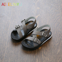 Summer Shoes Boys Anti Slip White Casual Shoes Girls Sandals Boys Beach Shoes Children Sandals Kids