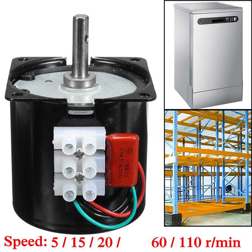 "60 60KTYZ 220V 14W קבוע מגנטי חשמלי מנוע ציוד 50Hz 2.5 סל""ד/5 סל""ד/ 15 סל""ד/20 סל""ד/60 סל""ד/110 סל""ד"