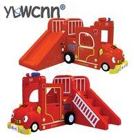YLW специализированное программное обеспечение детская мягкая игрушка для крытая площадка мультфильм пожарный game center/мягкое скольжение вле