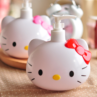 1 Pcs. Kawaii Kitty Cat Dell'arco di Plastica Flacone spray Vuoto Per Make Up E