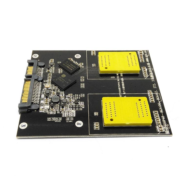 Free Shipping SSD 2 in 1 Multiple Function of to Dip 48 SM2246EN controller NAND Flash Test Socket PCB board with SSD interface