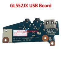 USB Audio Jack Board For ASUS GL552 GL552J GL552JX Laptop 100% TESED OK