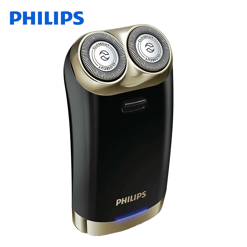 Original Philips Electric Shaver Hs199 Double Automatic Intelligent USB Charging Electric Razor Global Voltage 100-240V For Men philips s551 electric double heads 3d shaver