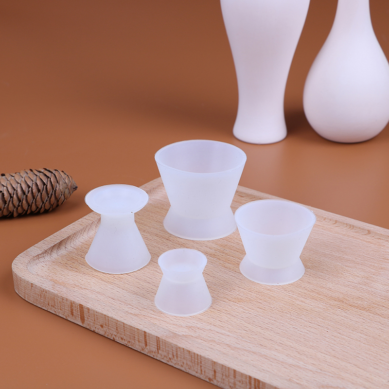 4*New Silicone Mixing Bowl Cup Dental Lab Silicone Mixing Bowl Cup