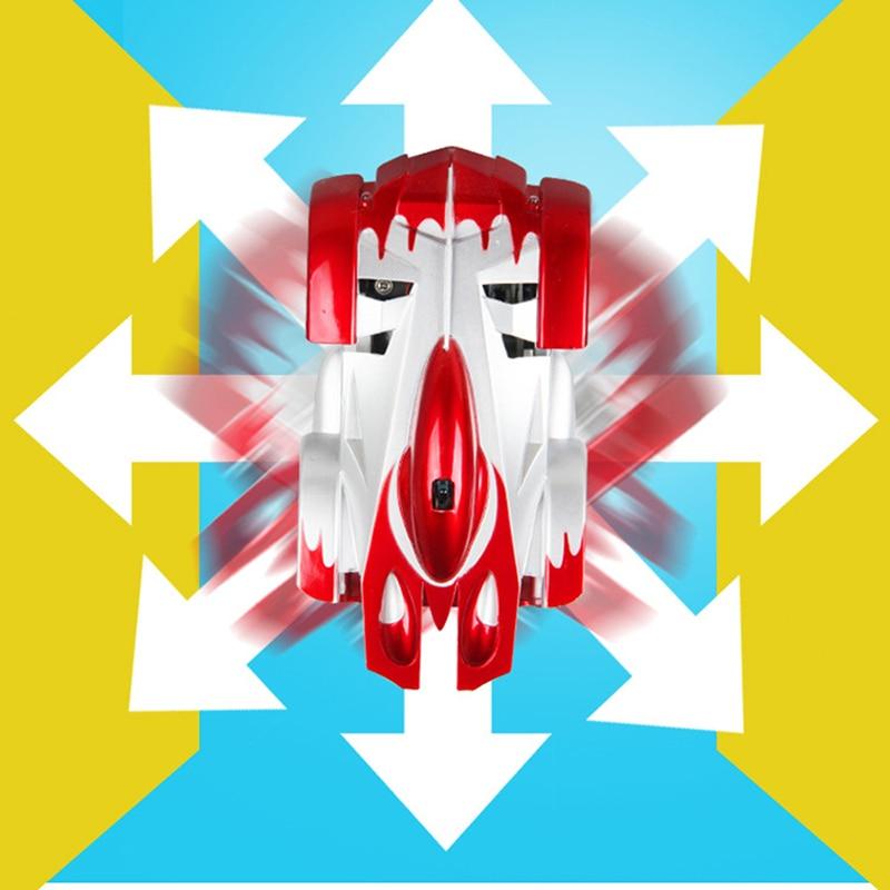 carro controle remoto vermelho escalada de parede
