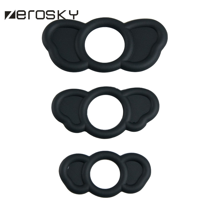 Zerosky 3 Sizes/box Stretchy Silicone Male Penis <font><b>Ring</b></font> Delay Ejaculation <font><b>G</b></font> spot Massage Cock <font><b>Ring</b></font> Erotic Adult <font><b>Sex</b></font> <font><b>Toys</b></font> for Men image