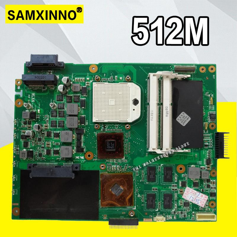 HD5470 K52DR Motherboard Para ASUS A52DE K52DE A52DR K52D Laptop Motherboard Mainboard K52DR K52DR Motherboard Teste 100% OK
