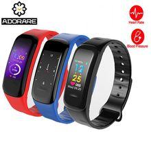 515cd2c51203 ADORARE fitness pulsera smart band wristband pulsera actividad tracker reloj  cicret smartband pulsómetro deporte impermeable C18